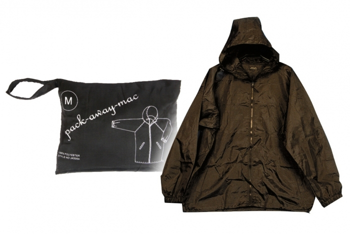 Men's Raincoat in Zip Pouch  - Assorted