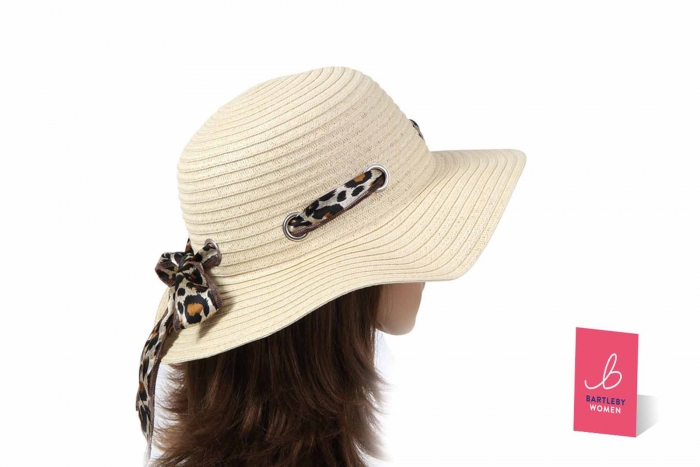 fbc87ef60 Ladies Straw Hat & Scarf - Deluxe - Otterdene Products