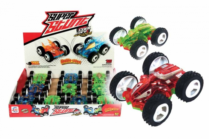Toy Cars That Flip Over : Car flip over in display otterdene products