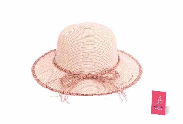 Ladies Crushable Straw Hat - Otterdene Products 86674ec39db