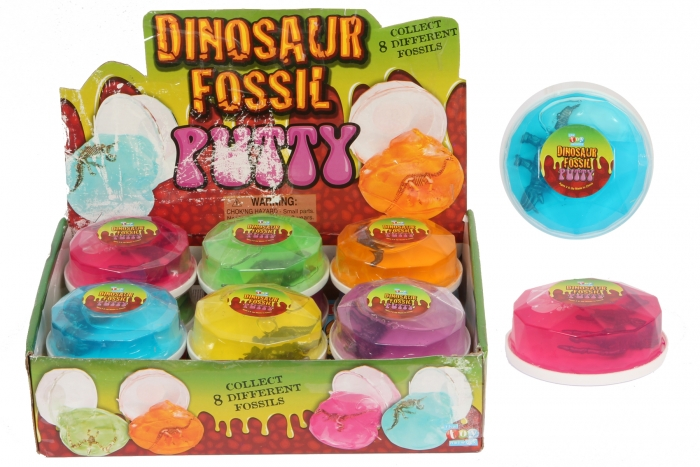 Dinosaur Fossil Putty - In Gemstone