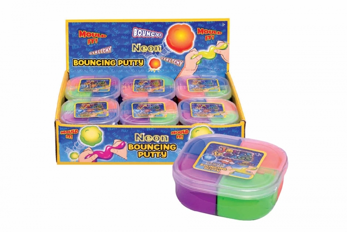 Bouncing Putty - 4 Colour