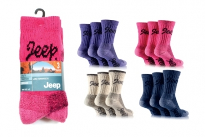 Ladies Socks - 'JEEP' Terrain Boot