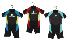 Short Wetsuit - Youths Age 7-14 Years Assorted Case