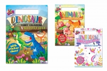 Carry Along Colouring & Activity Pad