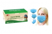Type IIR Fluid Resistant Medical Grade Face Mask