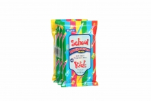 Kids Antibacterial Wipes - Pack of 4
