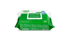 Universal Sanitising Wipes - Pack of 200
