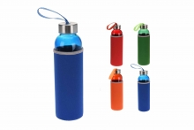 Drinks Bottle - With Neoprene Cover