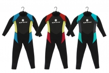 Long Wetsuit - Childs Ages 7-14 years Assorted Case