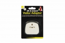 UK Visitor Adaptor - Carded