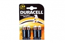 Batteries - Duracell, AA
