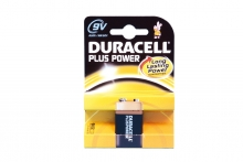 Batteries - Duracell, 9V