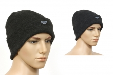 Mens Knitted Beanie Hat