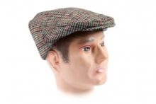 Mens Hat - Tweed Flat Cap