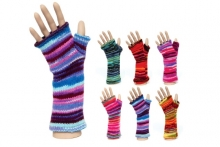 Ladies Gloves - Fingerless Tube