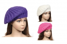 Girls Hat - Chunky Knit Beret