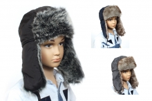 Childs Hat - Quilted Trapper