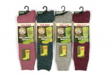 Ladies Socks - Deluxe Welly Boot