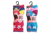 Girls Socks - Printed