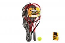 V12 Tennis Set - Metal, 2 Rackets