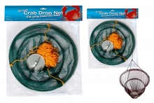 Crab Drop Net - Metal, 12""