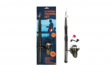 Fishing Set - Telescopic, Carded
