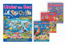Sticker Book - Animal World