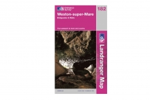 Landranger Map - Weston-S-Mare