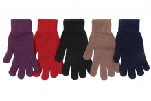 Ladies Gloves - Knitted Thermal