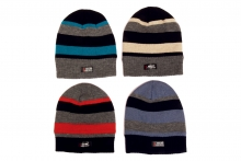 Boys Hat - Striped Ski