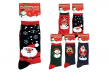 Mens Socks - Novelty Christmas