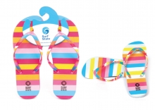 Girls Flip Flops - Striped