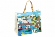 Shopper Bag - Harbour Scene