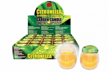 Citronella Candle - Glass Jar