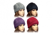 Ladies Hat - Cable Knit