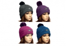 Ladies Hat - Marl, Bobble