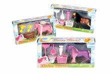 Horse World Play Set