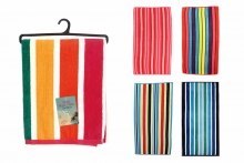 Beach Towel - Velour, Striped