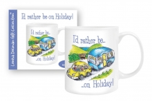 Mug - I'd Rather Be On Holiday