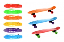 Skateboard, Retro - Coloured