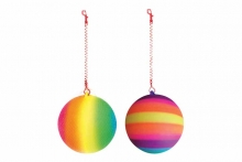 *FLAT* Playball - Neon Rainbow, on Cord