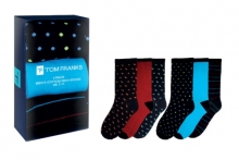 Socks - Mens 3 Pack, In Gift Box