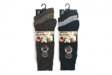 Socks - Mens Chunky Knit Boot