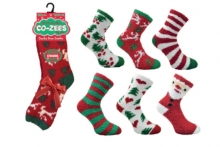 Socks - Ladies Soft & Cosy, Christmas