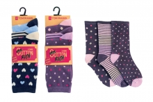 Socks - Ladies Patterned
