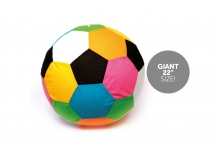 *FLAT*Mega Ball - Multi Colour, 22""