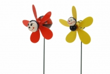 Windmill - Bee/Ladybird, On Stick
