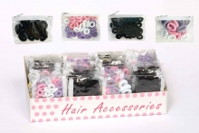 Hair Elastics - In Display Box