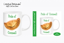 Mug - Pride Of Cornwall, Pasty